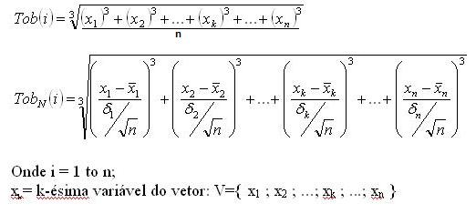 Fórmulas que podem ser aplicadas